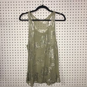 WILFRED SILK TANKTOP
